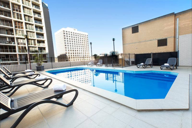 Metro Hotel Marlow Sydney Central swimming pool Sydney CBD