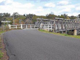 Middle Falbrook Bridge over Glennies Creek