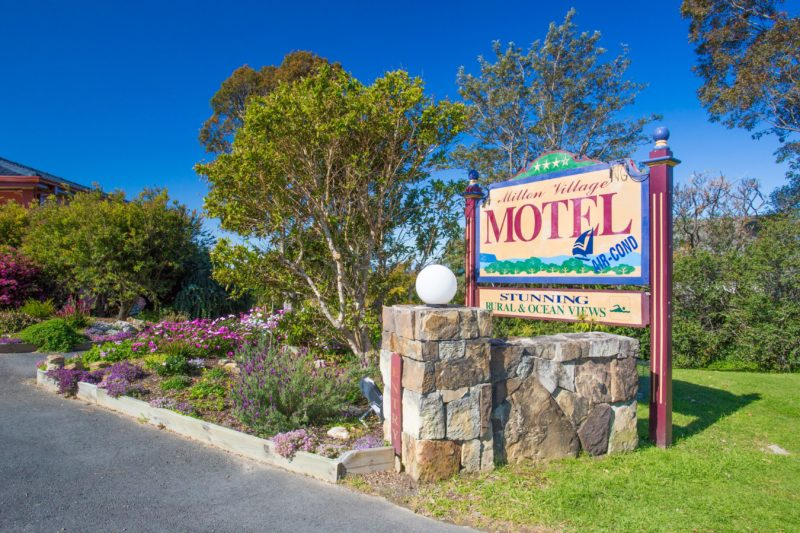 Motel entry