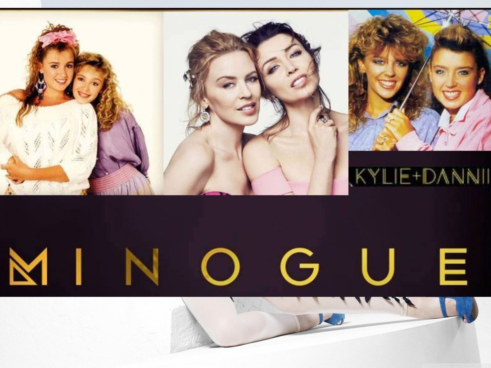 Minogue Dannii vs Kylie