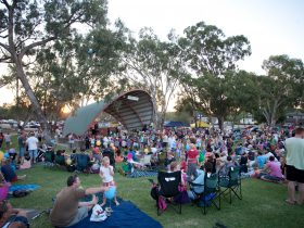 moama soundshell crowd