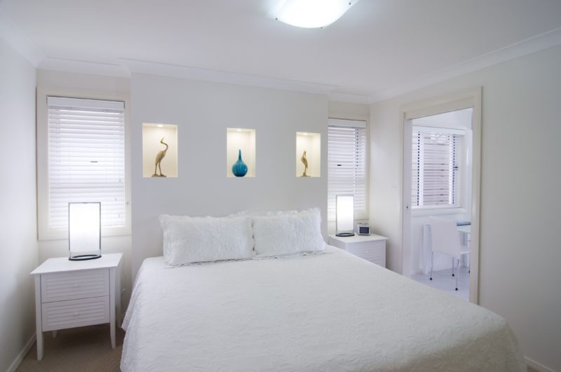 Luxurious King bed for Romantic couples Mollymook Accommodation