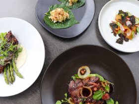 Share plates at the Boilerhouse Restaurant Q Station Manly