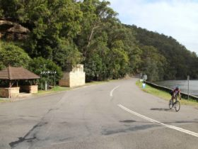 Mount Colah Station to Pymble Station cycle route, Ku-ring-gai Chase National Park. Photo: Andy Rich