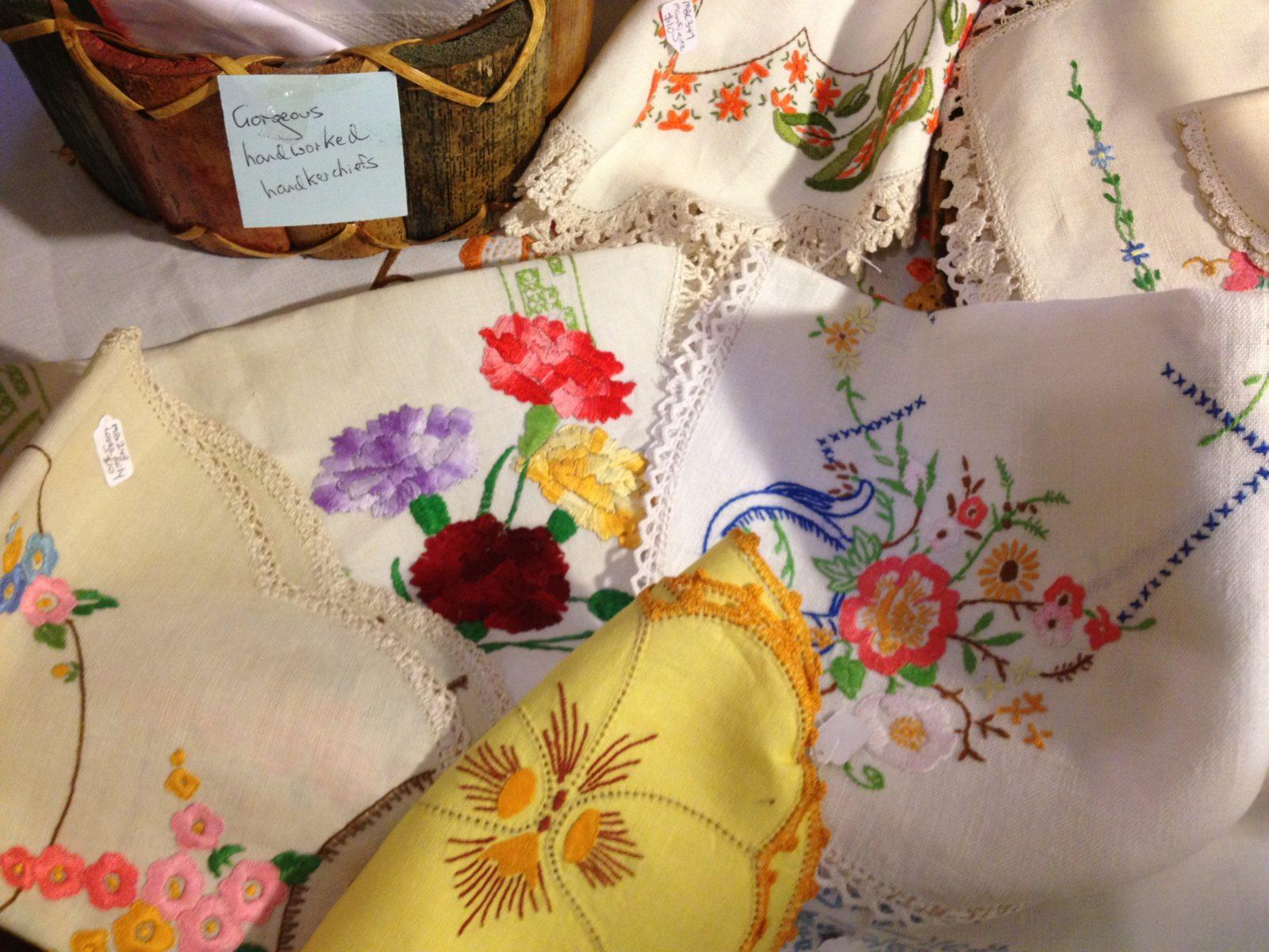 Vintage embroideries