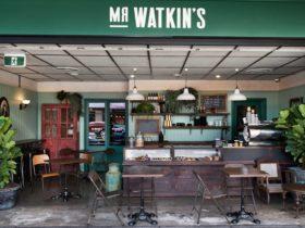 Mr Watkins frontage