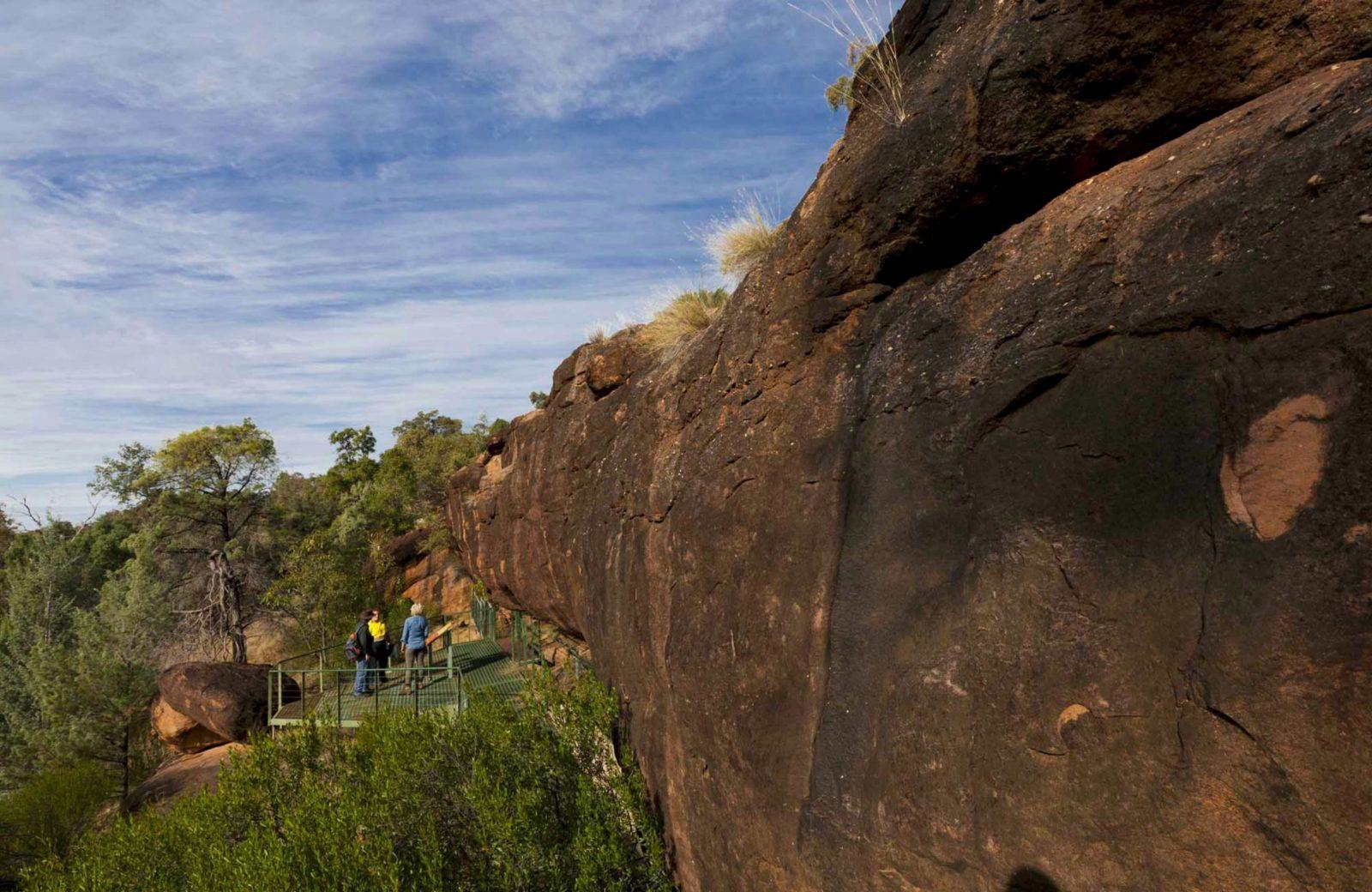 Mulgowan Aboriginal Art Site Track, Gundabooka National Park. Photo: David Finnegan/NSW Government