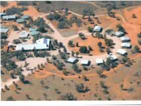 Aerial picture Mungo Lodge