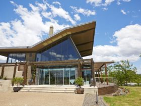 Exterior of Muse Restaurant & Cafe, Hungerford Hill Wines, Pokolbin