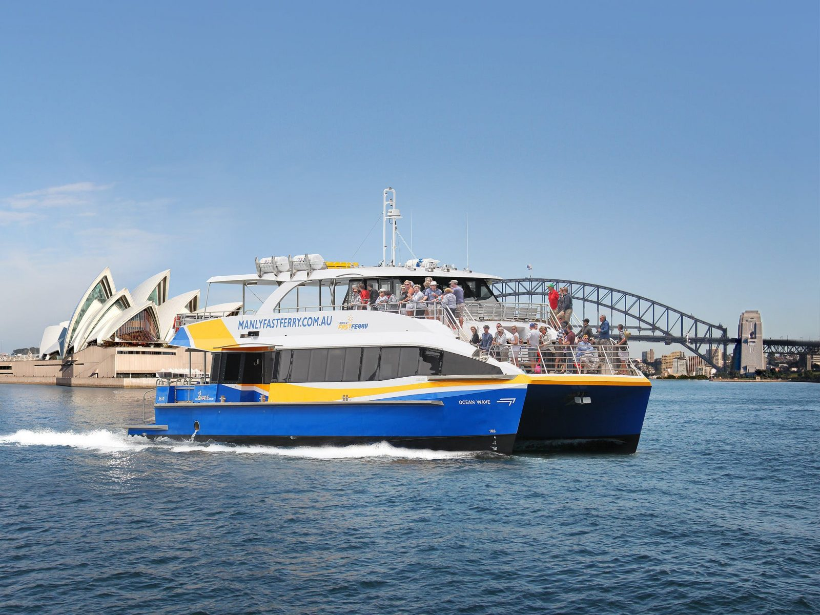 My Fast Ferry Vessel on Sydney Harbour