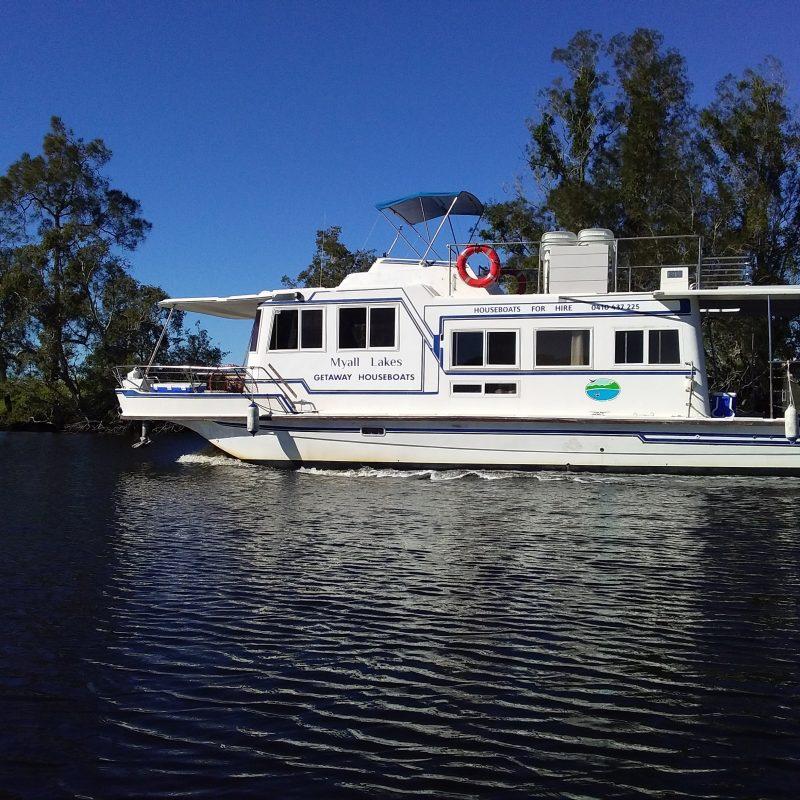 45ft houseboat
