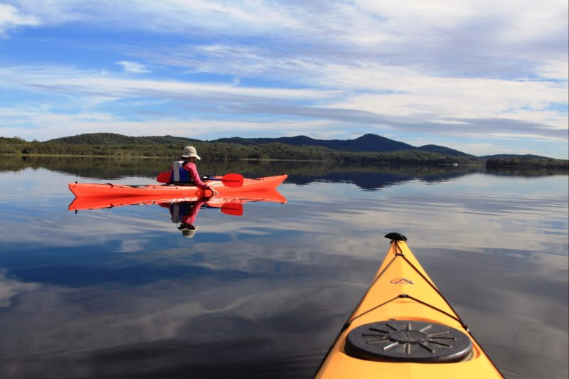 Myall Lakes paddling tour with Barrington Outdoor Adventures