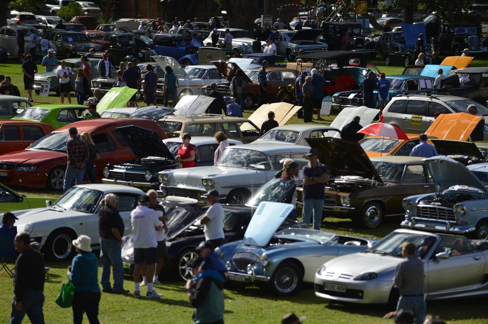 Great vehicles at the Showground