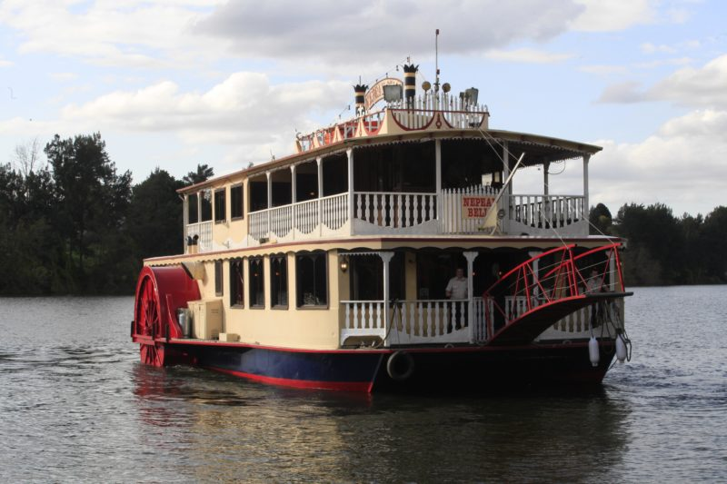 Nepean Belle Paddlewheeler River Cruise Sydney things to do in Sydney Penrith