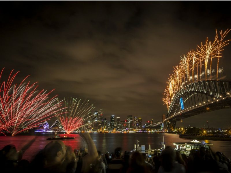 New Year's Eve Sydney Harbour Bridge