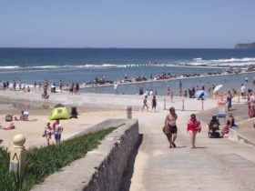 Merewether Ocean Baths (the largest in the southern hemisphere)