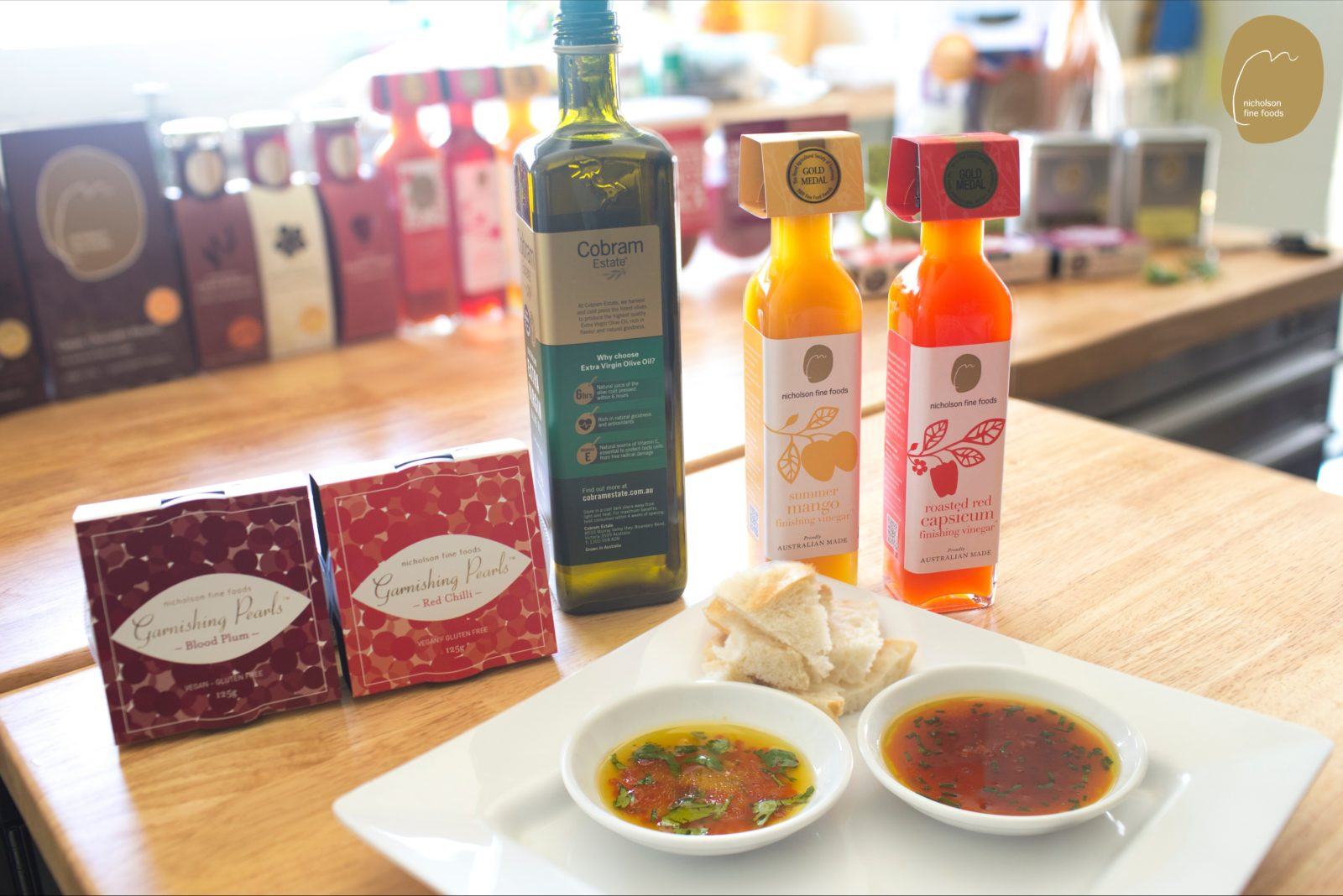 Garnishing Pearls and Finishing Vinegar by Nicholson Fine Foods
