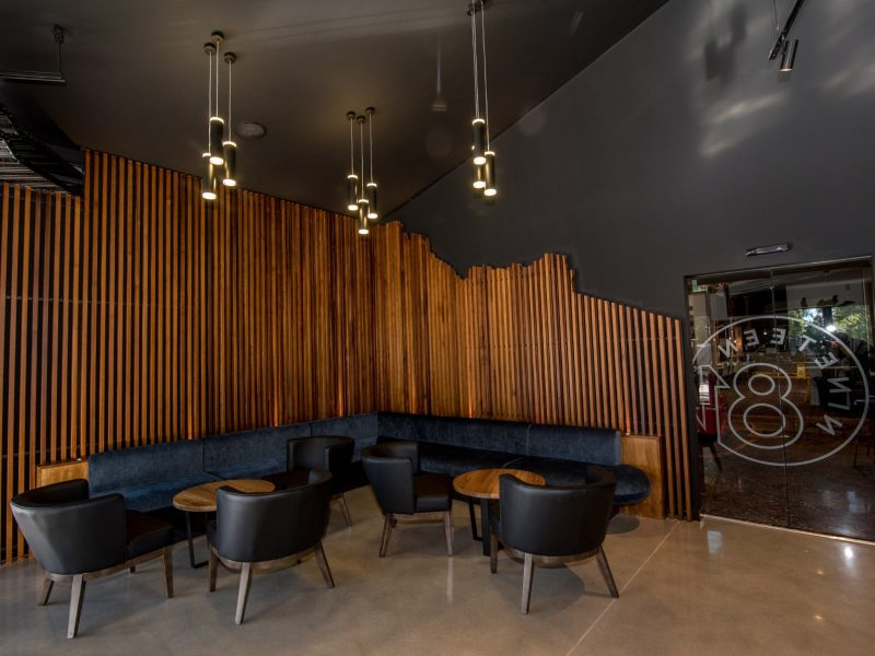 Nineteen81 Lounge area, equipped with lounge seating and low tables