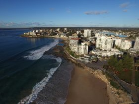 Ariel view from North Cronulla