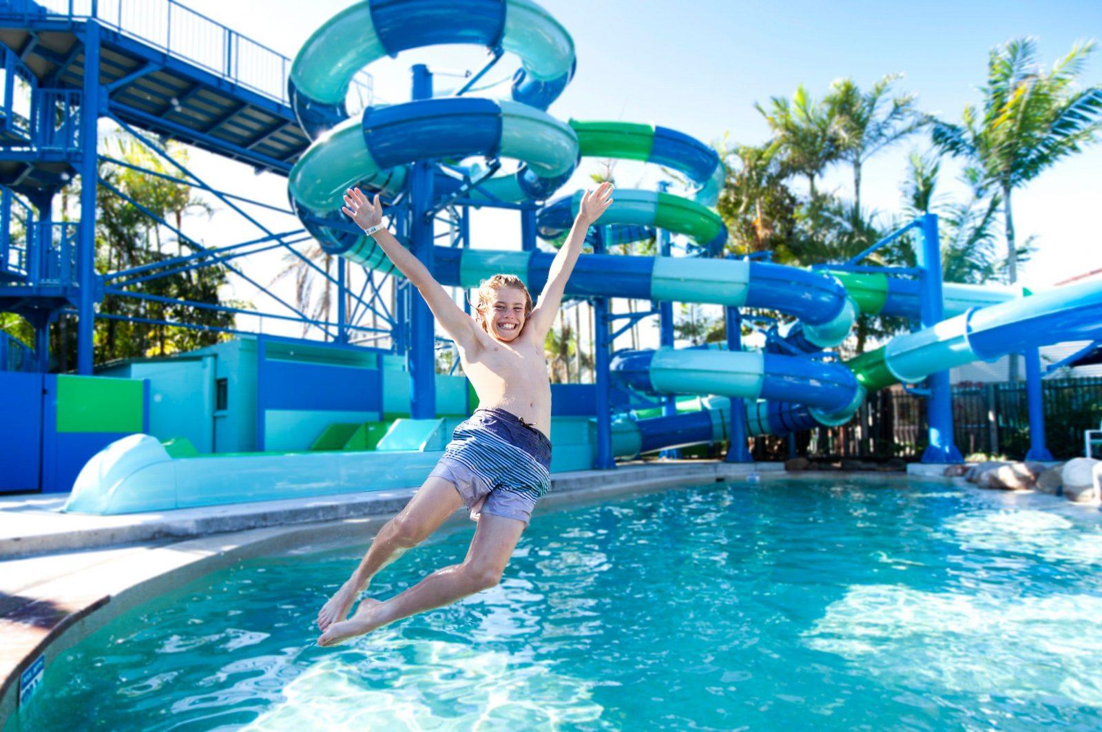 Water Slides North Star Holiday Resort