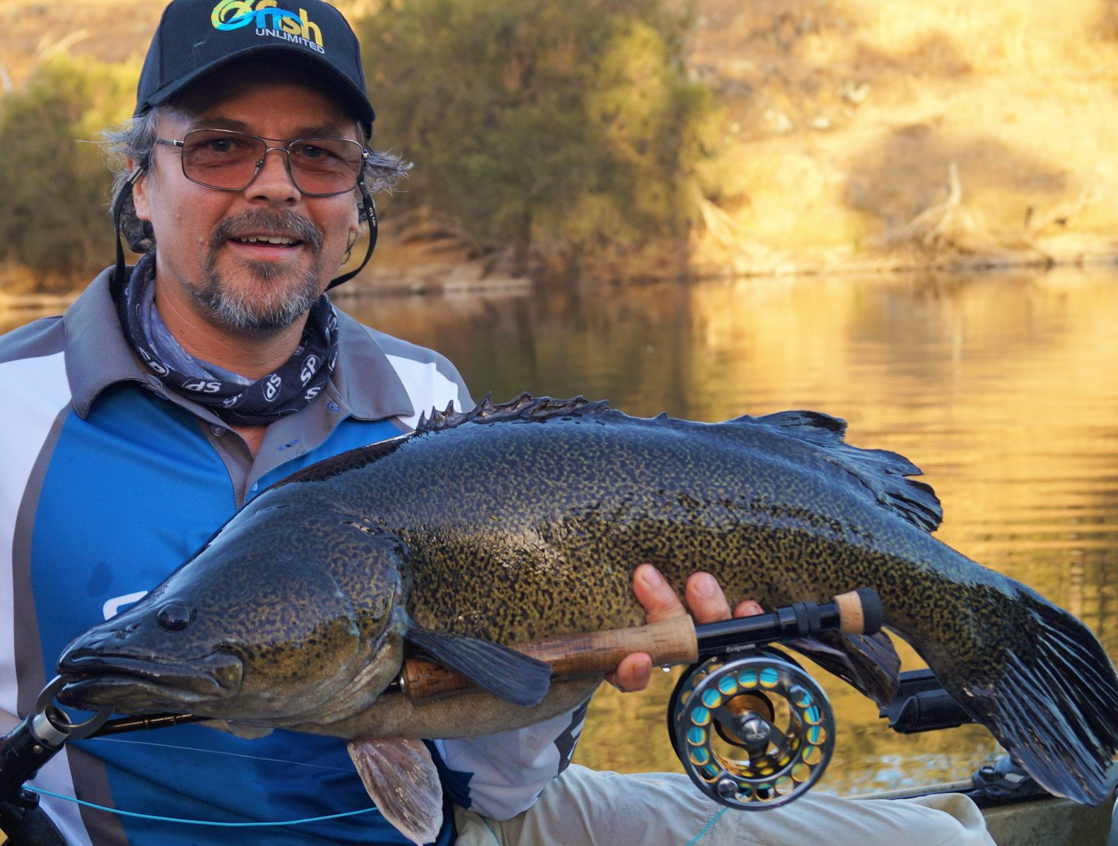 Fly fishing for Murray Cod