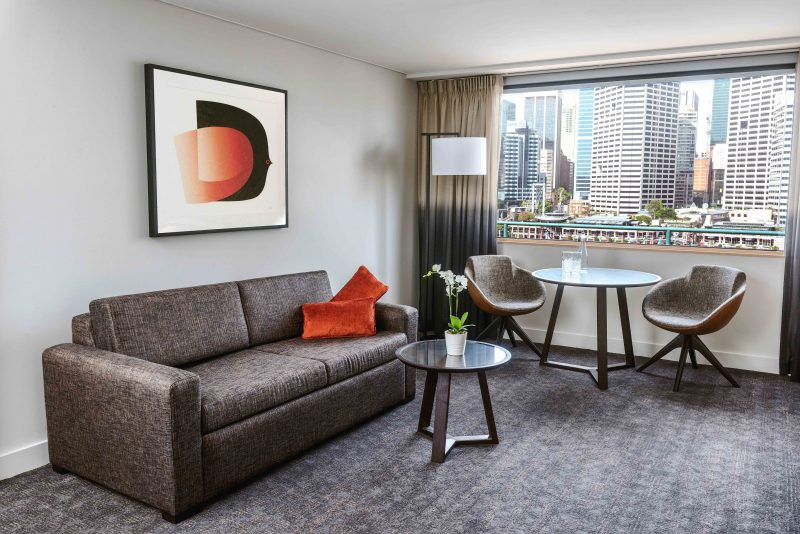 Executive Queen Suite at Novotel Sydney on Darling Harbour
