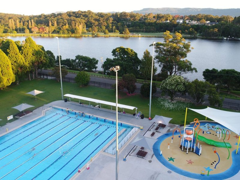 Nowra Pool and splash Play Park