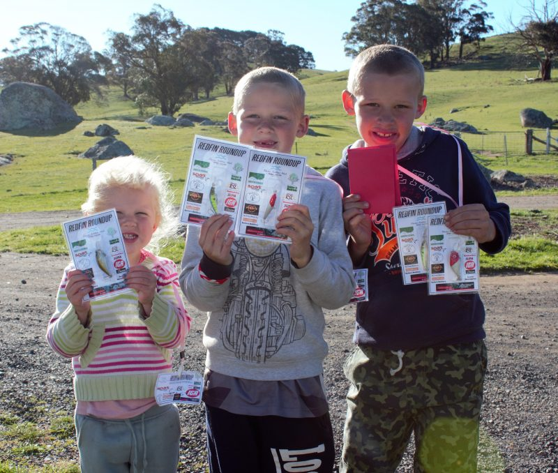 Lots of prizes on offer for the kids during Oberon Outdoor Week