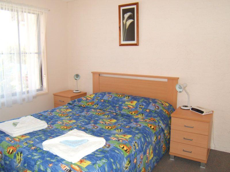 Main bedroom featuring Queen size bed