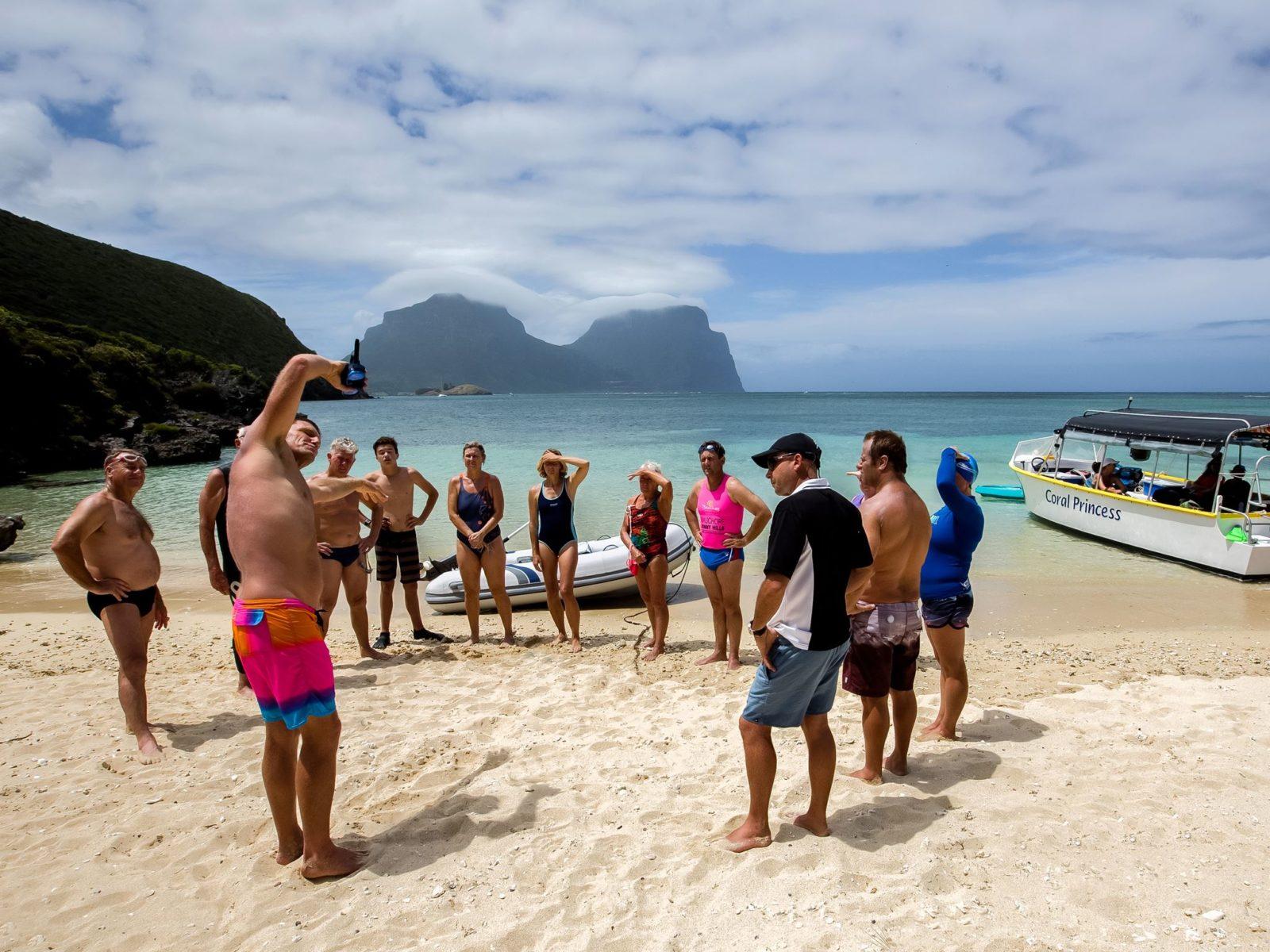 Ocean Swimming with Trevor Hendy