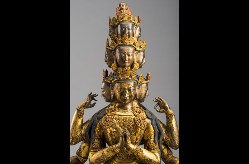 Buddha Avalokitesvara, Tibet, 18th Century from our recent exhibition Art of Compassion.