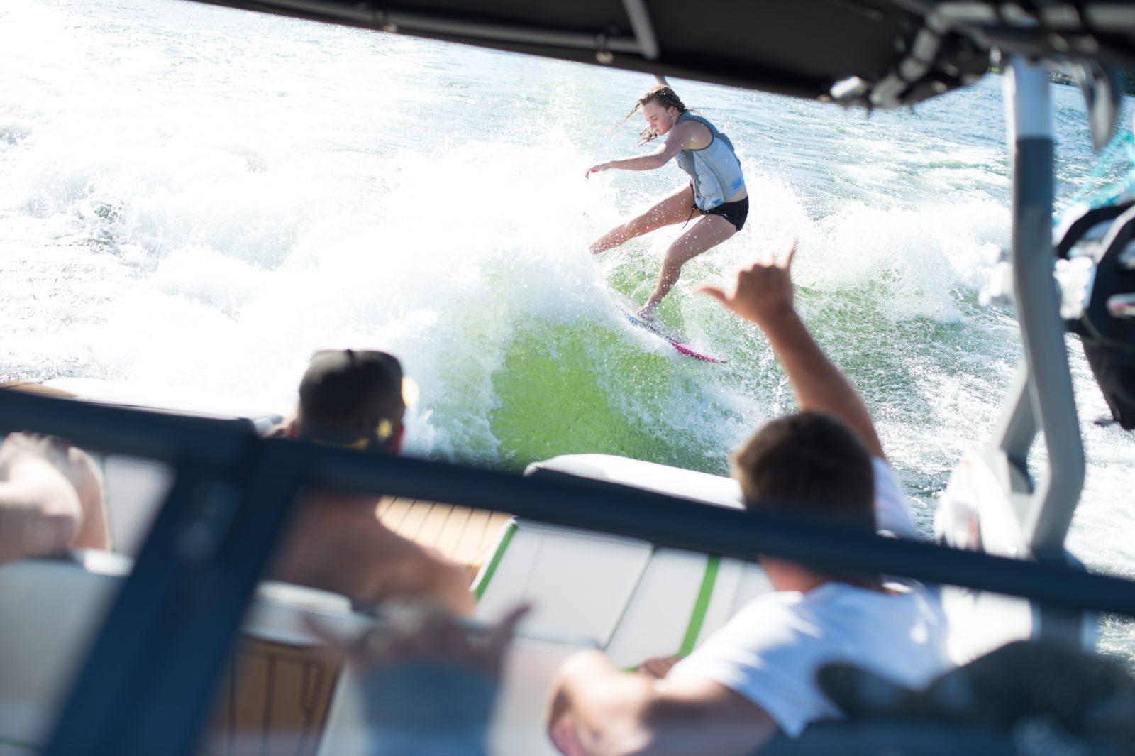 Wake Surfing Byron Bay