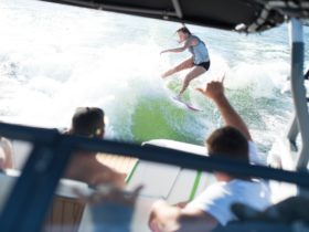 Wake Surfing Byron Bay