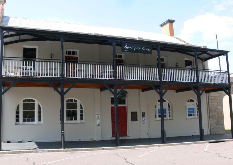 Street view of the Goulburn Club