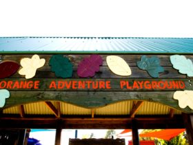 Orange Adventure Playground