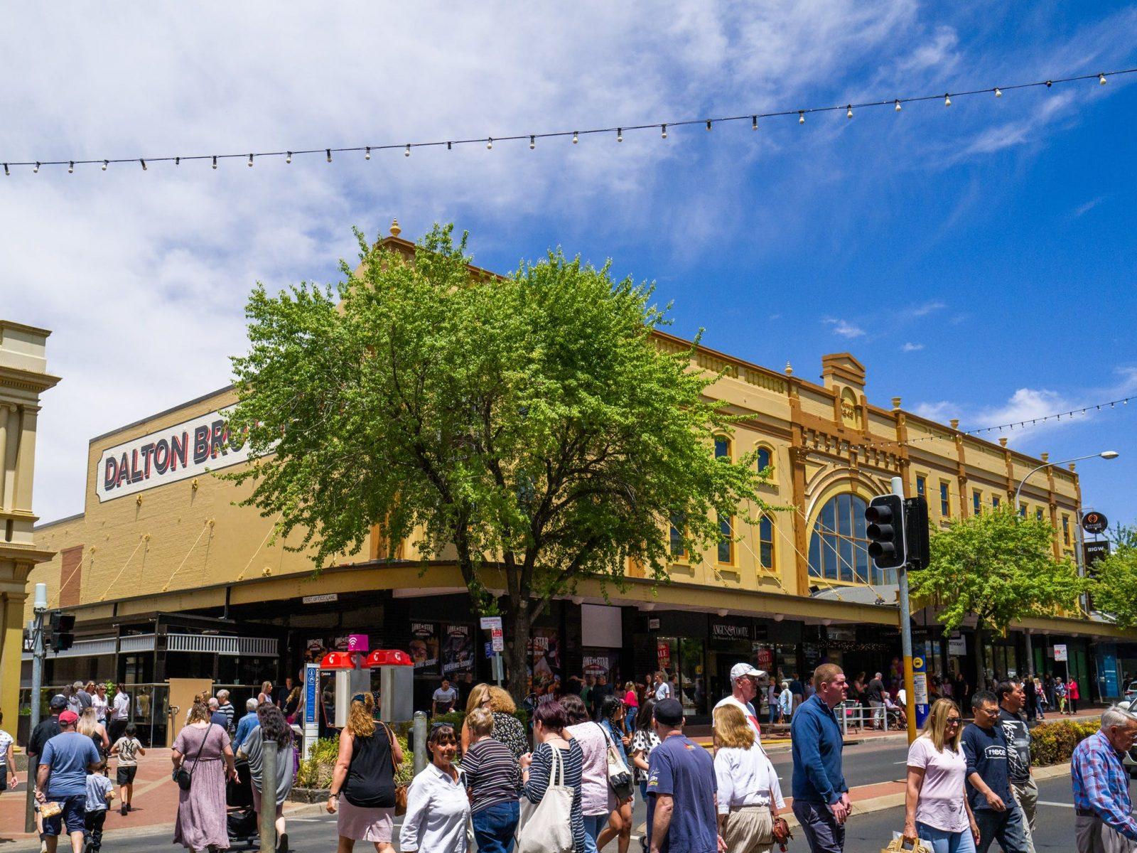Orange City Centre Facade