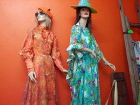 Orange Daze Vintage Fashion