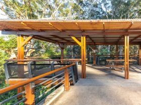 Accessible picnic shelter