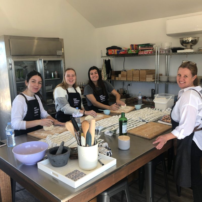 Pasta making classes