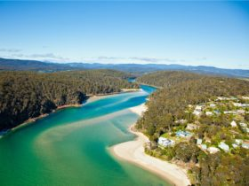 Pambula Beach, river, swim, accessible, dog-friendly