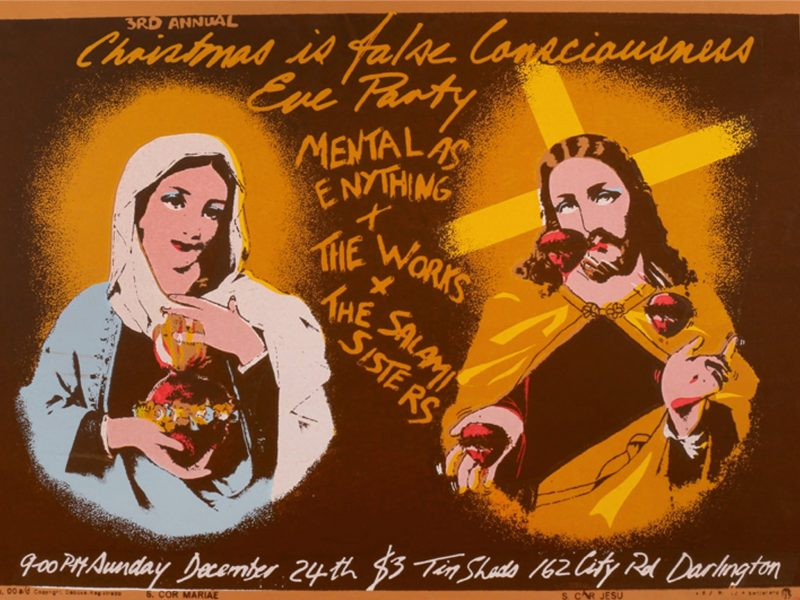 Poster of Mary and Jesus