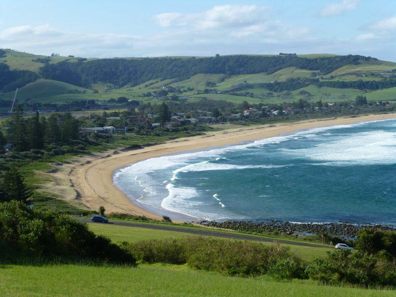 Werri beach, the local surf beach