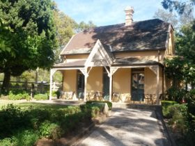 Gatehouse Tearooms in Macquarie Street Gatehouse, Parramatta Park