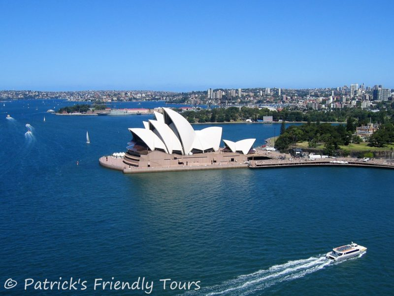 Sydney Opera House - The shining sails float over Sydney Harbour