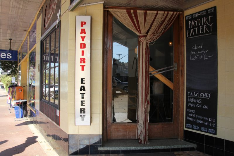 Paydirt Eatery, Braidwood