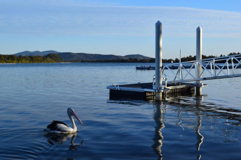 Pelican Caravan Park Jetty