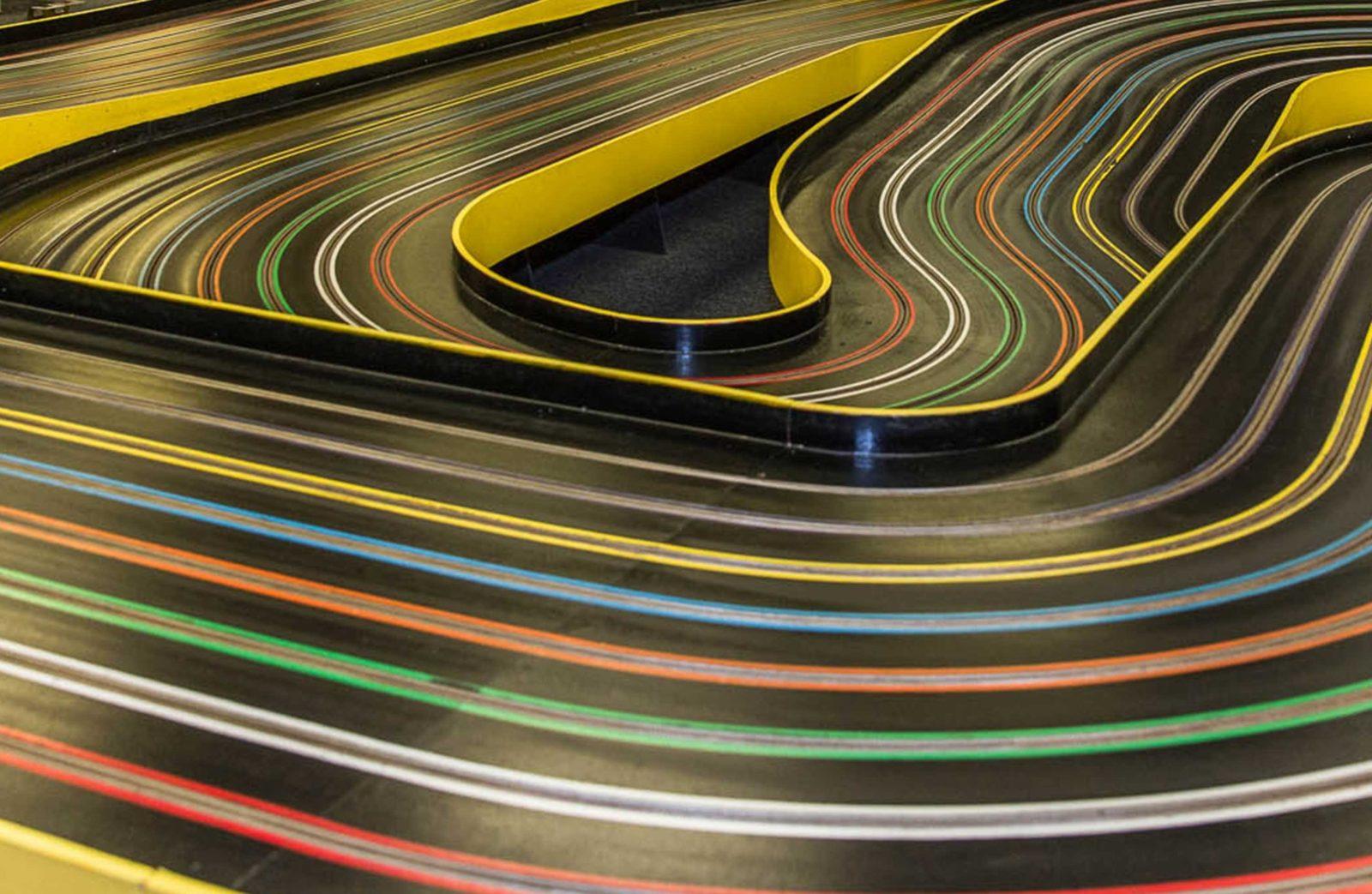 Image of a slot car Track