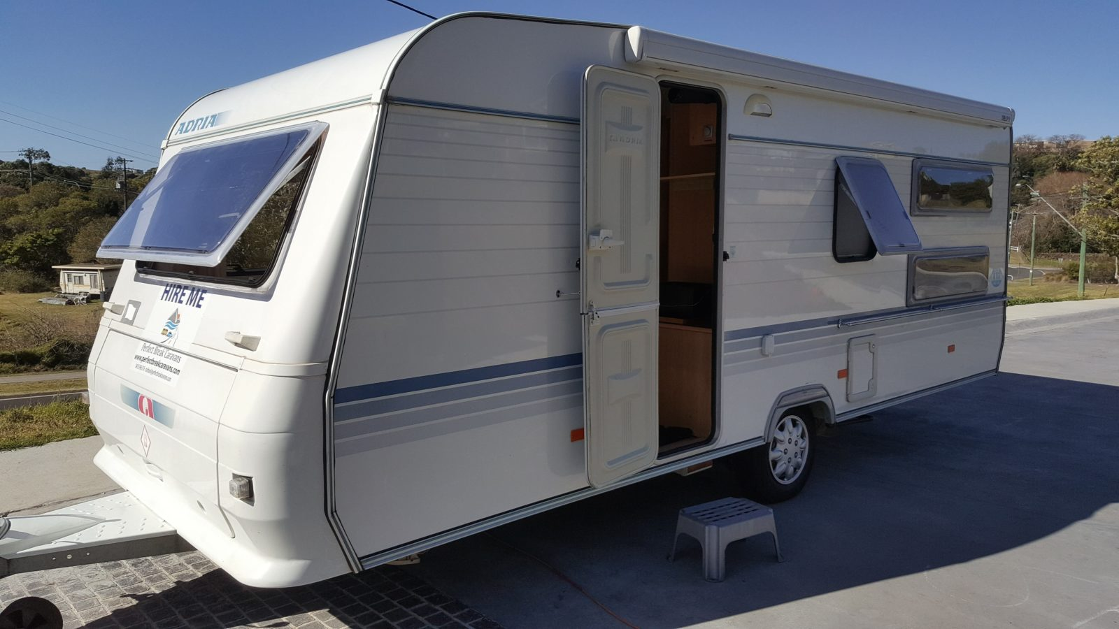 Adria 542UK Bunk Caravan with shower and Toilet