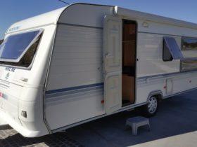 Adria 542UK Bunk Caravan with shower and Toilet