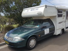 Sunliner Motorhome with Toilet and Shower